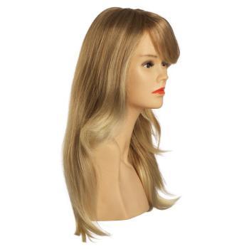 lange, blonde Perücke, 50cm lang